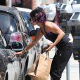 Vanessa Hudgens achète à déjeuner, à Los Angeles, le mardi 19 juin 2012.
