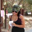 Vanessa Hudgens sort de son cours de sport, à Los Angeles, le mardi 19 juin 2012.