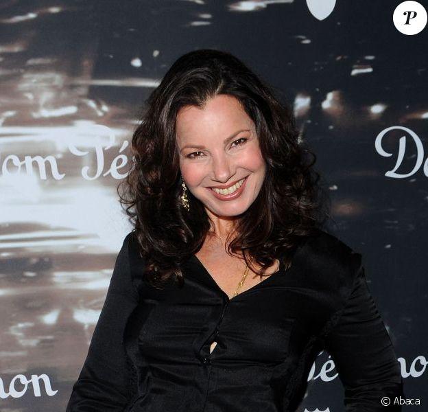 Fran Drescher pétillante à la grande soirée Dom Pérignon et David Lynch à Los Angeles, le 20 juin 2012.