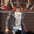 Axl Rose lors d'un concert à Londres avec les Guns N'Roses le 29 mai 2012