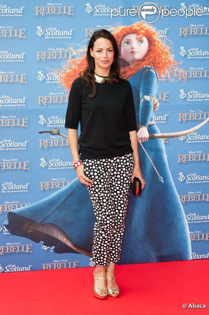 Bérénice Bejo à l'avant-première de  Rebelle , à Paris le 24 juin 2012.