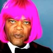 Samuel L. Jackson : Délirant, déguisé en Nicki Minaj !