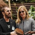 Ringo Starr et Barbara Bach à Londres, le 21 mai 2012.