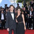 Romain Grosjean et Marion Jollès (ici lors du 65e Festival de Cannes, le 22 mai 2012), en couple depuis 2008 et fiancés en 2012, ont célébré leur mariage le 27 juin 2012 à Chamonix, dans un salon du Majestic.