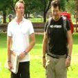 Stéphane Rotenberg et Stéphane Plaza dans Pékin Express - Le Passager Mystère le jeudi 28 juin 2012 sur M6