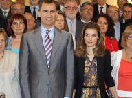 La princesse Letizia superbe auprès de Felipe pour préparer le Forum Impulsa