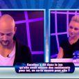 Kevin et Virginie dans le sas dans Secret Story 6, vendredi 29 juin 2012 sur TF1
