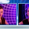 Caroline et Virginie dans le sas dans Secret Story 6, vendredi 29 juin 2012 SUR tf&