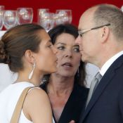 Albert de Monaco, Caroline et Charlotte Casiraghi réunis pour la fin du Jumping