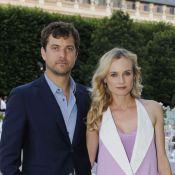 Diane Kruger et Joshua Jackson, duo amoureux à la très chic garden party Berluti