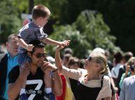 Sharon Stone et son fils Quinn : Entre Fashion Week et visites touristiques