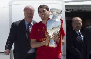 Euro 2012 : Bain de foule et soirée, la folle journée de la Roja reine d'Europe