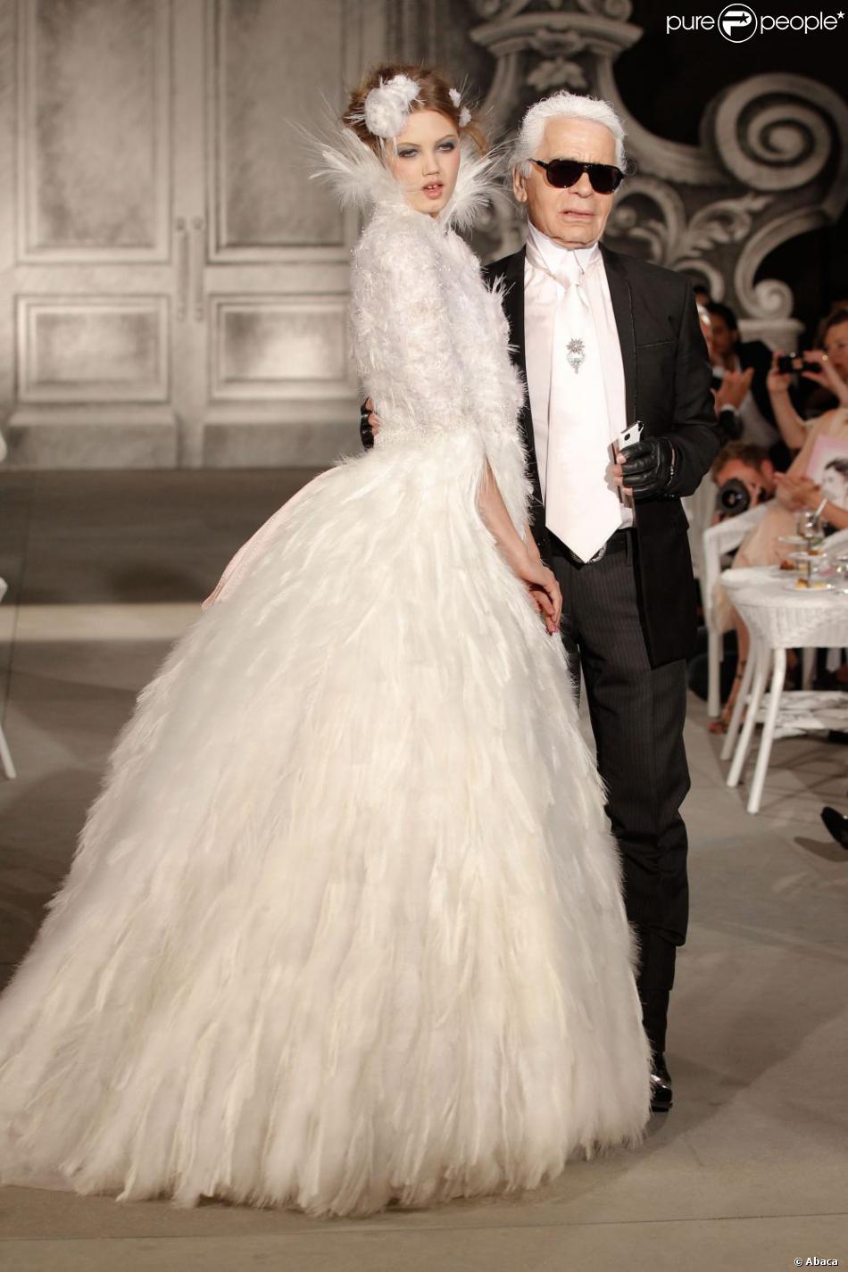 Souvent Final du Défilé Chanel Haute Couture à Paris le 3 juillet 2012  HQ81
