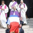 Obsèques d'Olivier Ferrand en l'église Saint-Sulpice, à Paris, le 4 juillet 2012.