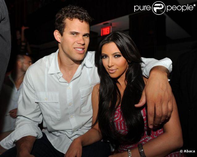 Kris Humphries et Kim Kardashian à Miami en mai 2011
