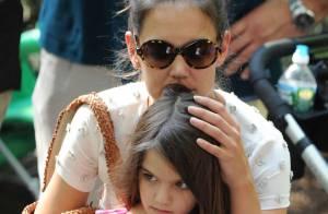 Katie Holmes : Sortie au zoo avec la petite Suri et sa mère Kathleen