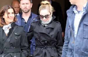 Madonna à Paris : Elle sort enfin avec son fils David