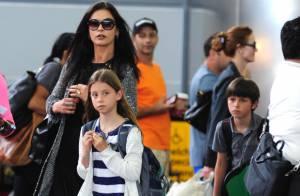 Catherine Zeta-Jones : Ses adorables enfants Dylan et Carys ont bien grandi