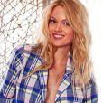En chemise d'homme et culotte Victoria's Secret, Lindsay Ellingson donne vie à un authentique fantasme.