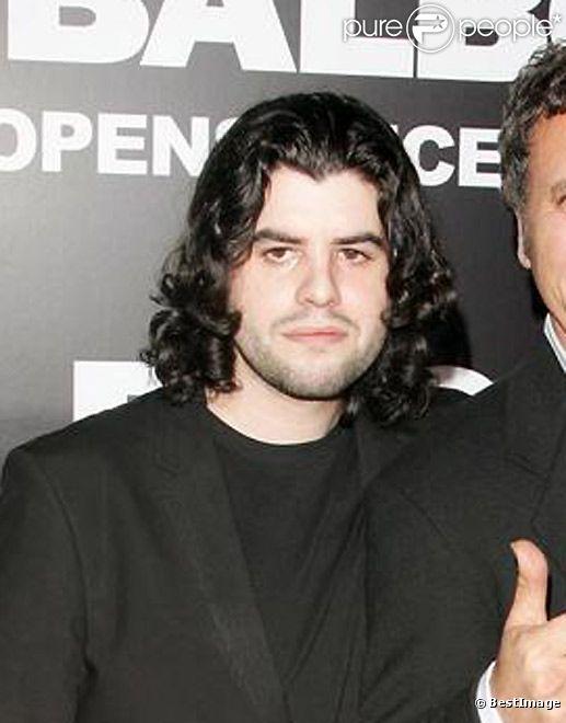 Sage Stallone, en 2006 pour la première de Rocky Balboa à Los Angeles.