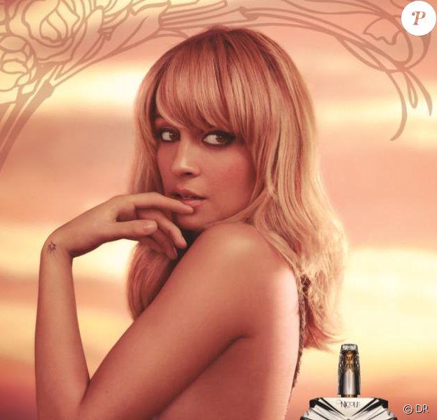 Première campagne pour le parfum Nicole by Nicole Richie, disponible en septembre 2012.