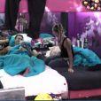 Julien et Fanny dans la quotidienne de Secret Story 6, lundi 23 juillet 2012 sur TF1