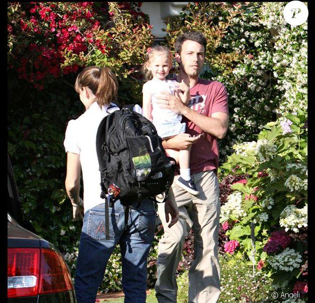La famille Affleck-Garner
