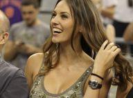 Helen Lindes : L'ex-Miss Espagne à fond avec son homme Rudy Fernandez et la Roja