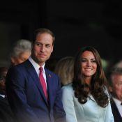 JO 2012 : Kate Middleton, élégante et admirative avec son prince William