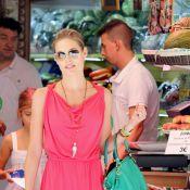 Helen Svedin : Sortie en famille pour la sublime femme de Luis Figo