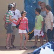 Sofia et Elena d'Espagne à Majorque avec les enfants : la colo est ouverte !