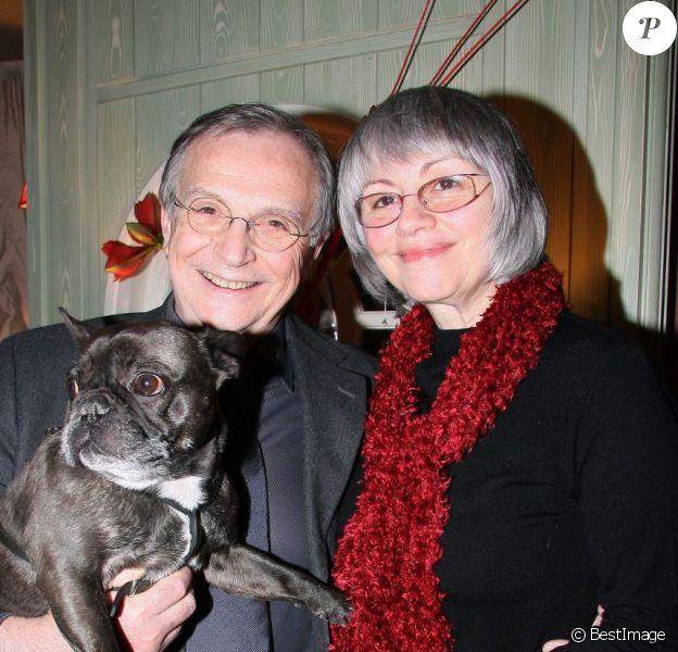 Gérard Rinaldi et sa bien-aimée Ginette en 2009 à Paris