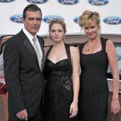 Melanie Griffith et Antonio Banderas, très unis, avec leur fille resplendissante
