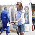 La princesse Marie a préféré le Segway aux vieilles voitures de course lors du Grand Prix historique de Copenhague le 5 août 2012.
