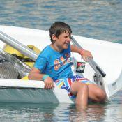 Sofia d'Espagne: Pour ses petits-enfants Felipe et Victoria, tout baigne à Palma