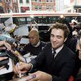 Robert Pattinson fait la promotion de Cosmopolis au Canada en juin 2012