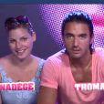 Thomas et Nadège dans la quotidienne de Secret Story 6 le jeudi 9 août 2012 sur TF1