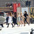 Les Spice Girls en répétitions dans le plus grand secret pour leur show prévu lors de la cérémonie de clôture des Jeux olympiques. Le 9 août 2012