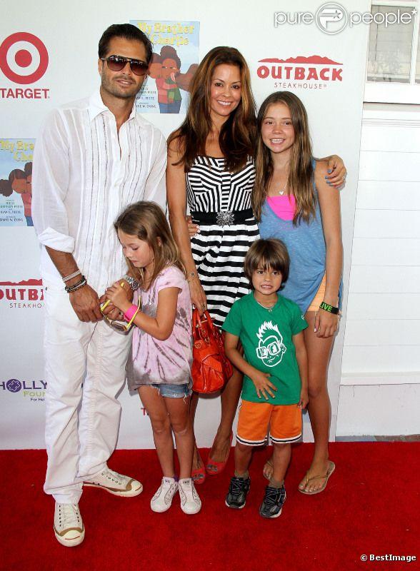 David Charvet, Brooke Burke et leurs enfants : Généreux, ils donnent