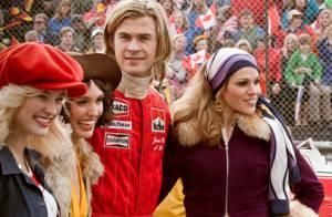 Rush : Chris Hemsworth, pilote de Formule 1 entouré de ravissantes filles