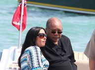 Quincy Jones profite de Saint-Tropez, en bonne compagnie