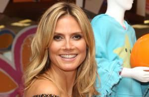 Heidi Klum : Ravissante et féline créatrice de vêtements pour enfants