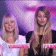 Fanny et Virginie dans la quotidienne de Secret Story 6 le mercredi 16 août 2012 sur TF1