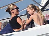 Kate Moss : stylée pour une balade en bateau avec sa ravissante fille Lila Grace