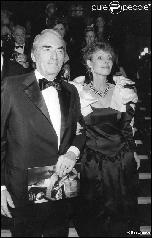 Grégory Peck et sa femme Véronique Passani (images d'archives)