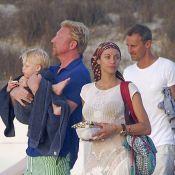 Boris Becker : Tendres vacances avec son fils Amadeus et sa belle Lilly