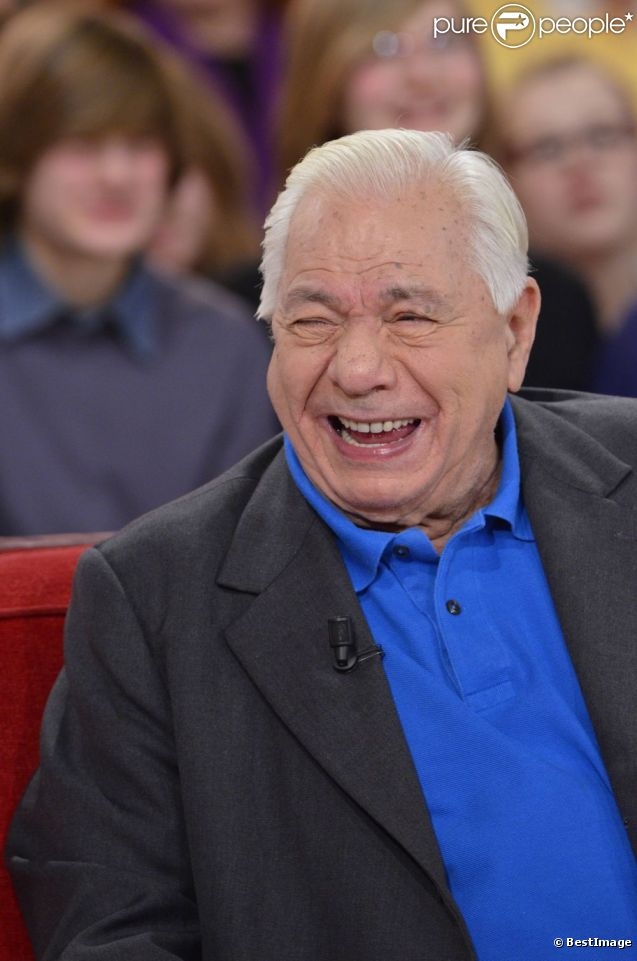 Michel Galabru dans l'émission Vivement dimanche du 12 février 2012