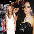 Audrina Patridge, sexy VRP pour la marque Abyss by Abby au Convention Center de Las Vegas pour le salon Magic. Le 21 août 2012.