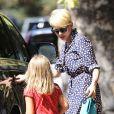 Michelle Williams et sa fille Matilda en balade à Los Angeles le 23 août 2012