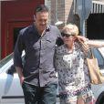 Michelle Williams et Jason Segel en balade amoureuse le 20 août 2012